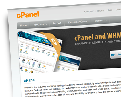 The Latest cPanel Control Panel